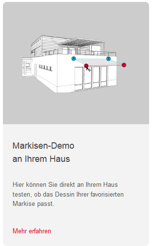 Markisen Demo